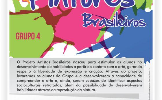 Projeto pintores brasileiros