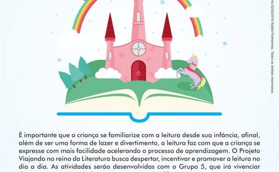 Viajando no reino da literatura